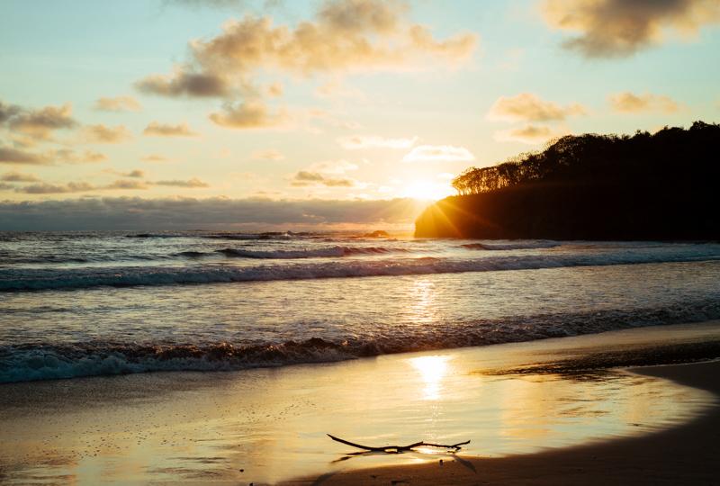 Best sunset in Costa Rica