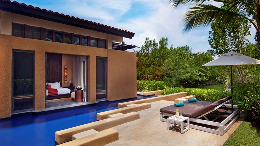 Best hotel for spa in Mexico Banyan Tree Mayakoba