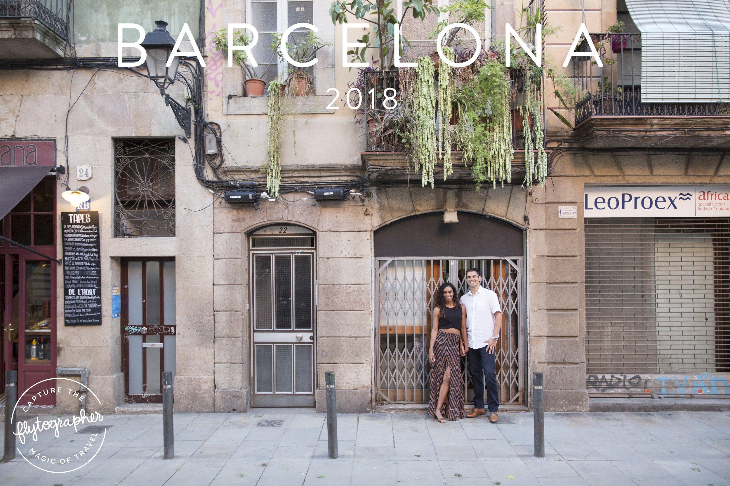 Flytographer photoshoot in Barcelona