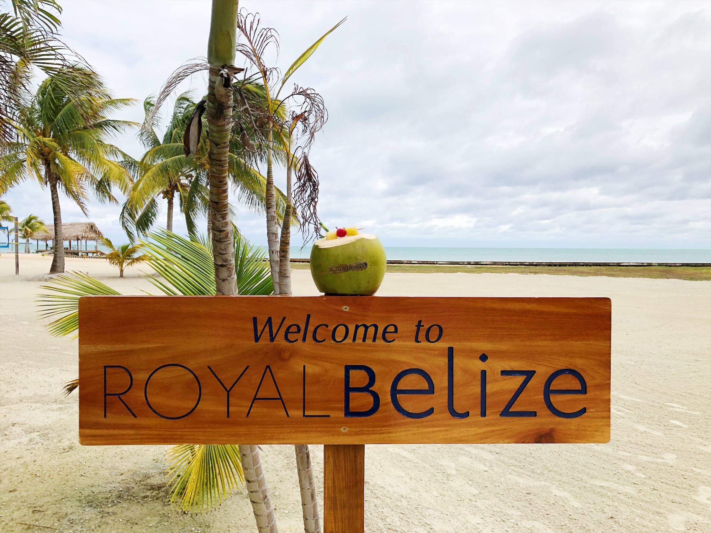 Stay on a private island in Belize