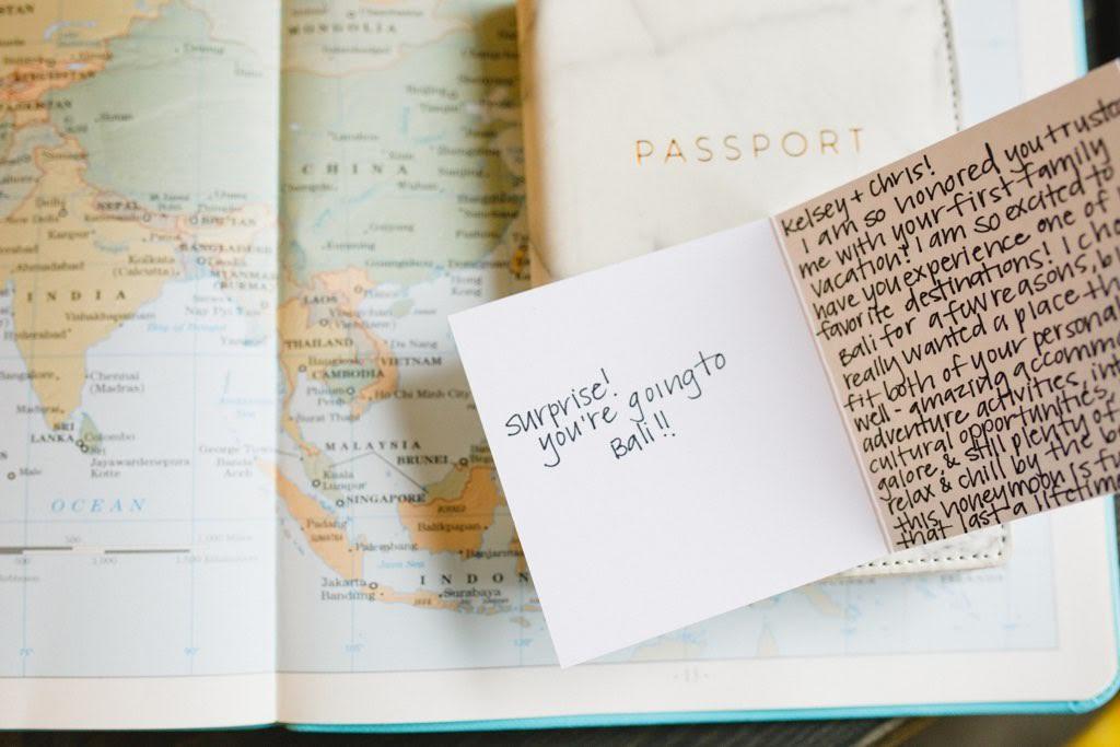 Planning a surprise honeymoon