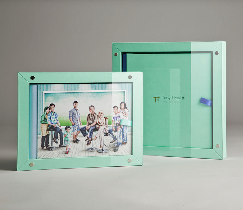 Image Album in Frame Top Box (you must order this album if you want to order a Parent Album at the bottom of this page)