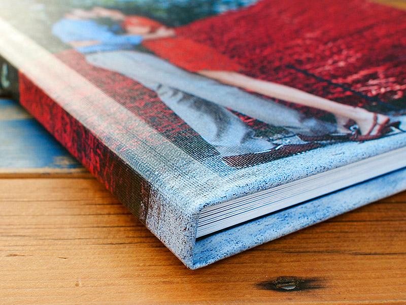 Engagement/Guest Book/Parent Book Option (Canvas Photo Cover Option)