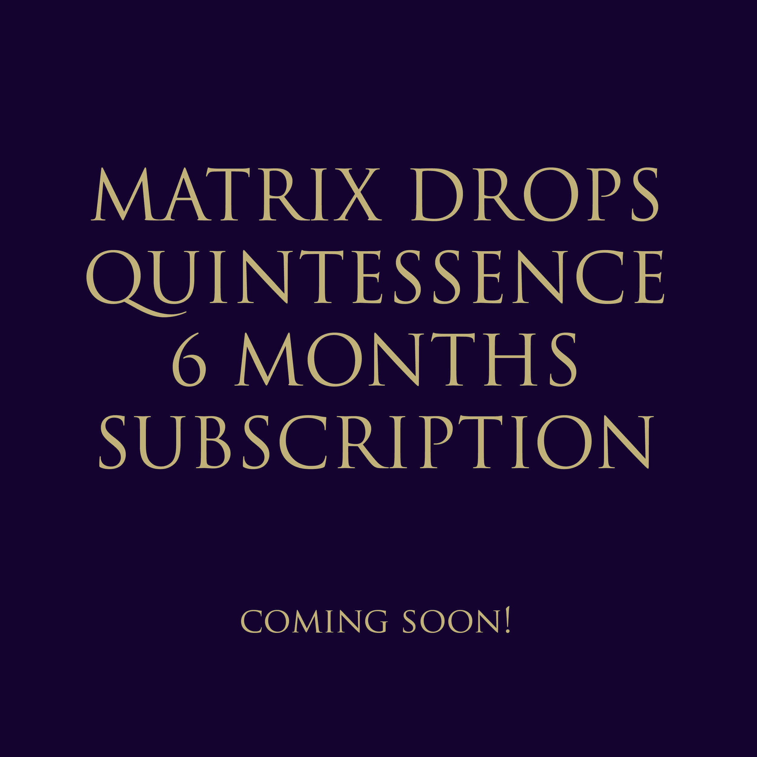 MD QUINTESSENCE 6 MONTHS SUBSCRIPTION