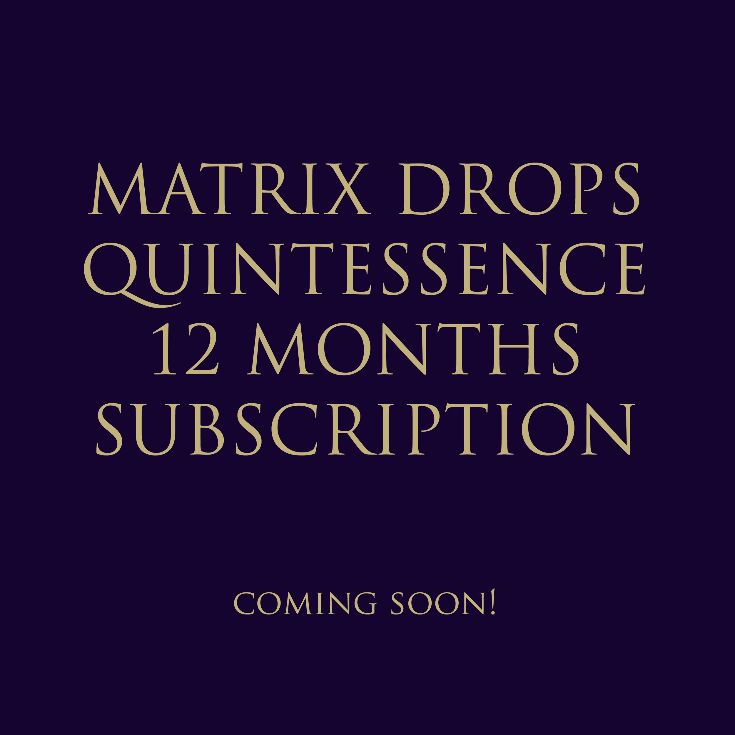 MD QUINTESSENCE 12 MONTHS SUBSCRIPTION