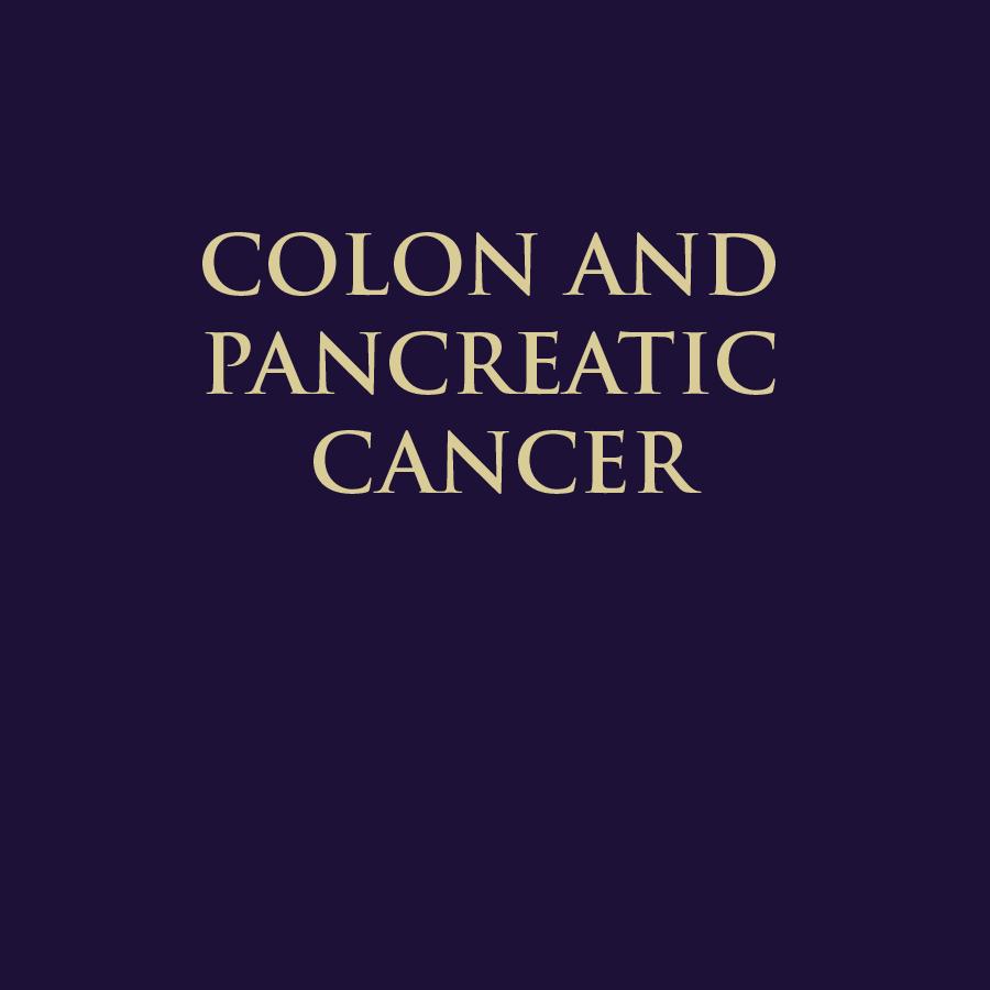COLON & PANCREATIC CANCER