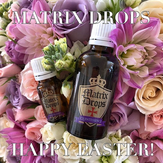 Wishing you a Blessed Easter! #matrix drops quintessence #matrix #drops #quintessence #spring #easter