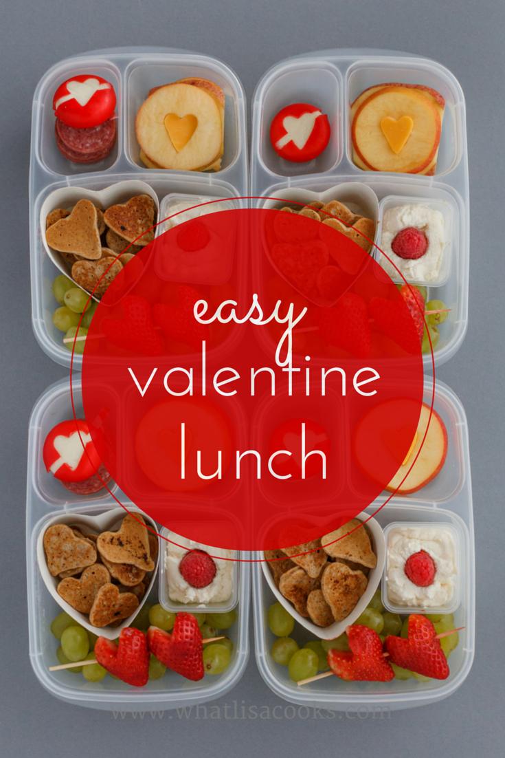 easy valentine lunch