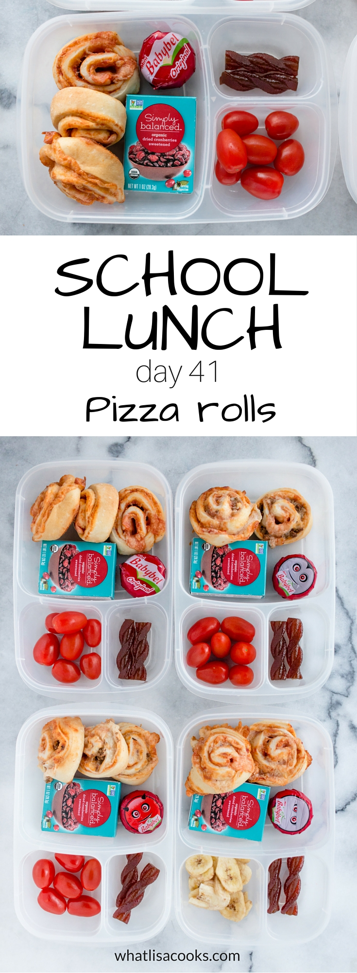 Make school lunch packing fast and easy - with lunch ideas and tips from WhatLisaCooks.com