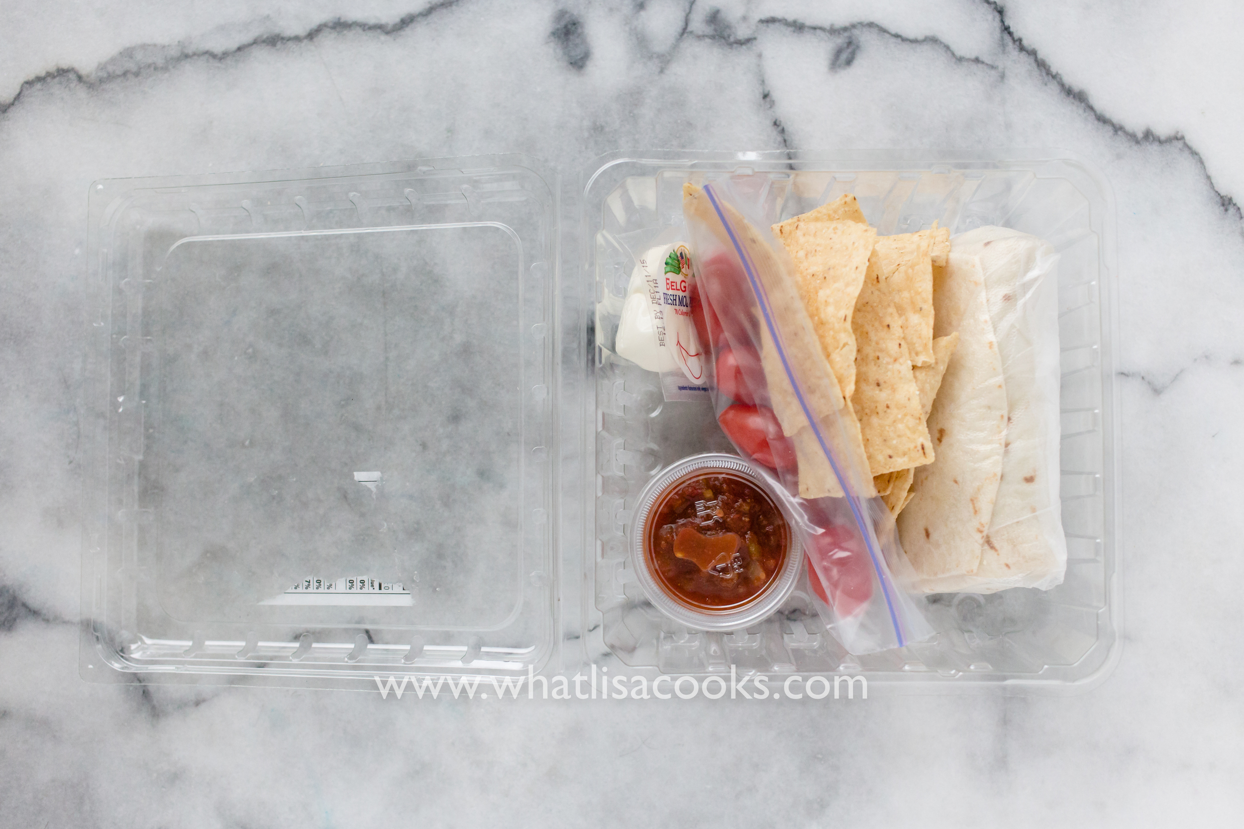 Packed lunch to-go for a school field trip | WhatLisaCooks.com