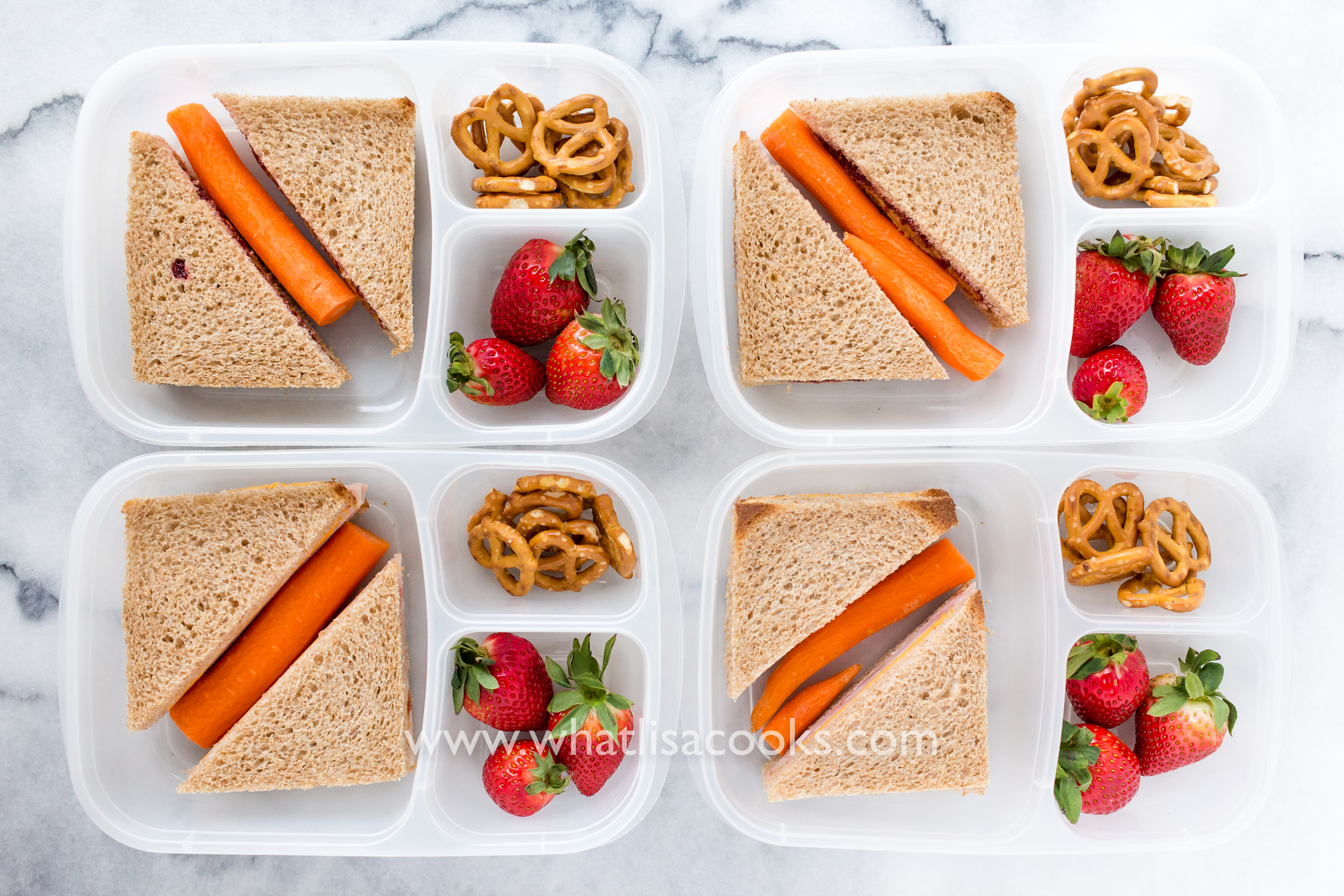 Easy sandwich lunch from WhatLisaCooks.com