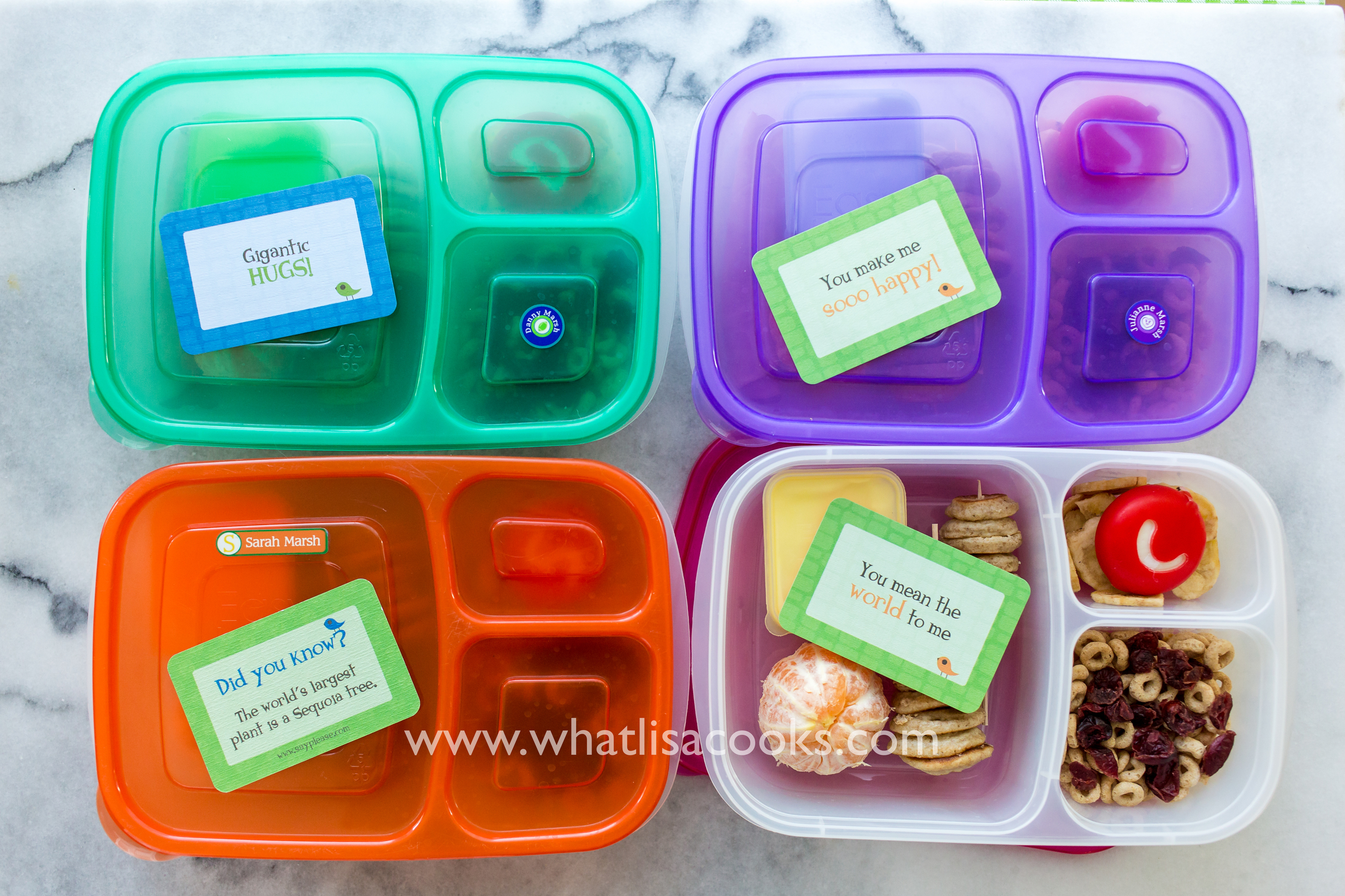 Share the Lunchbox Love - from WhatLisaCooks.com