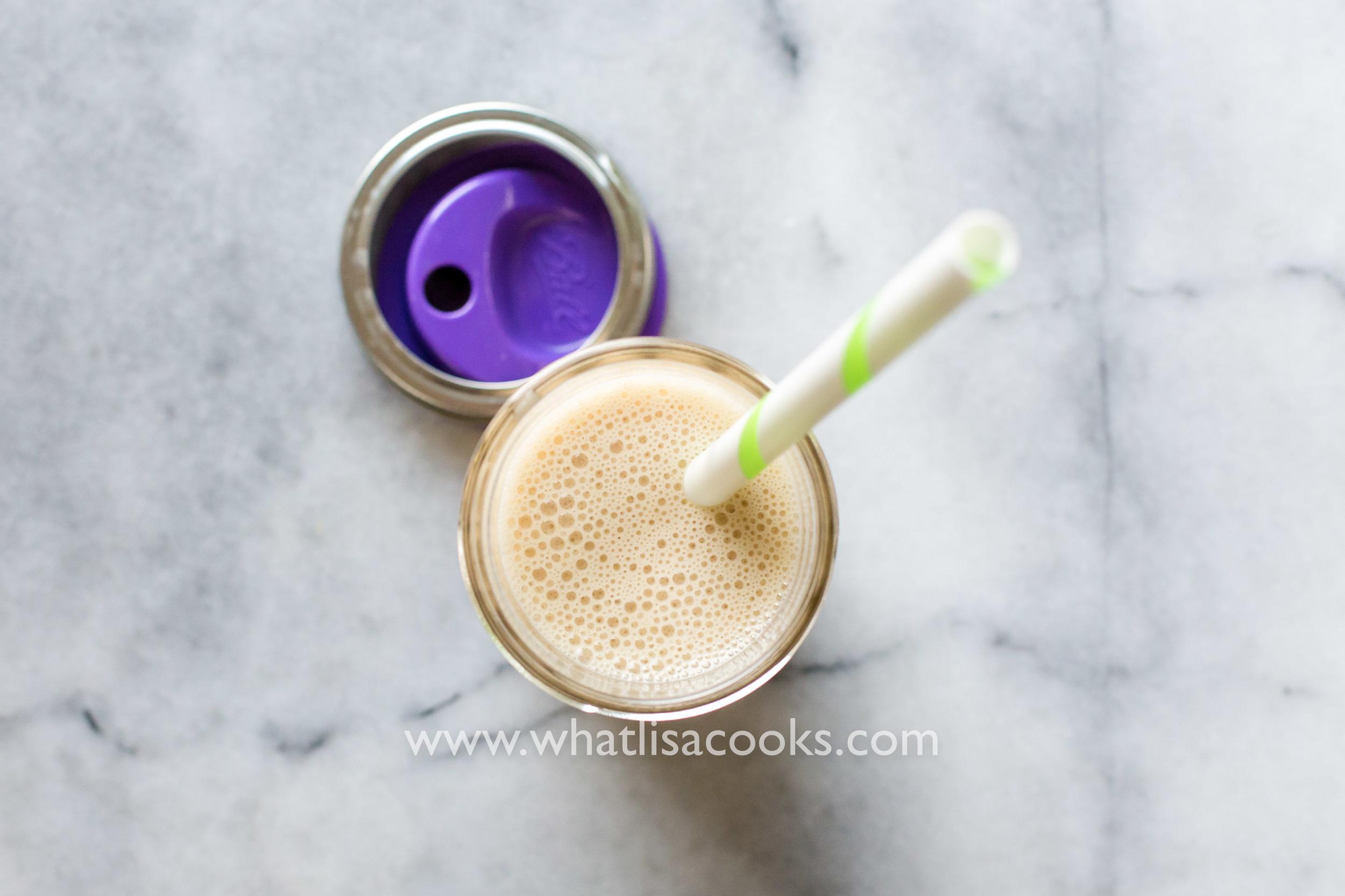 tummy soothing smoothie | whatlisacoks.com