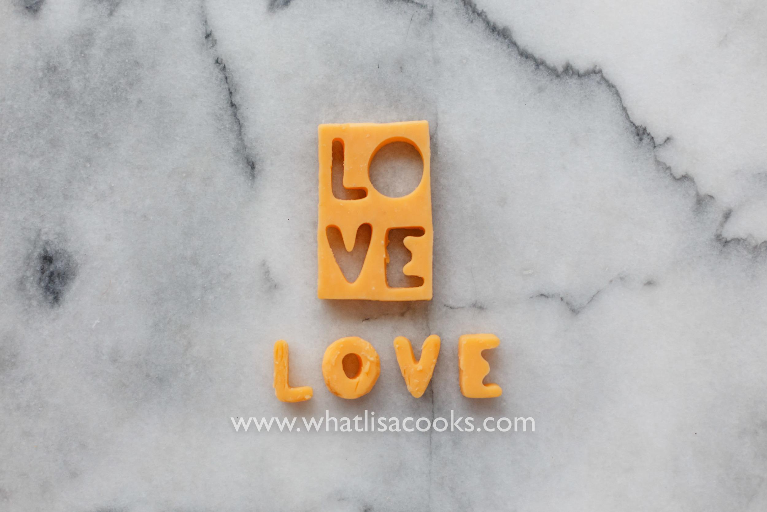 cheese = love | WhatLisaCooks.com