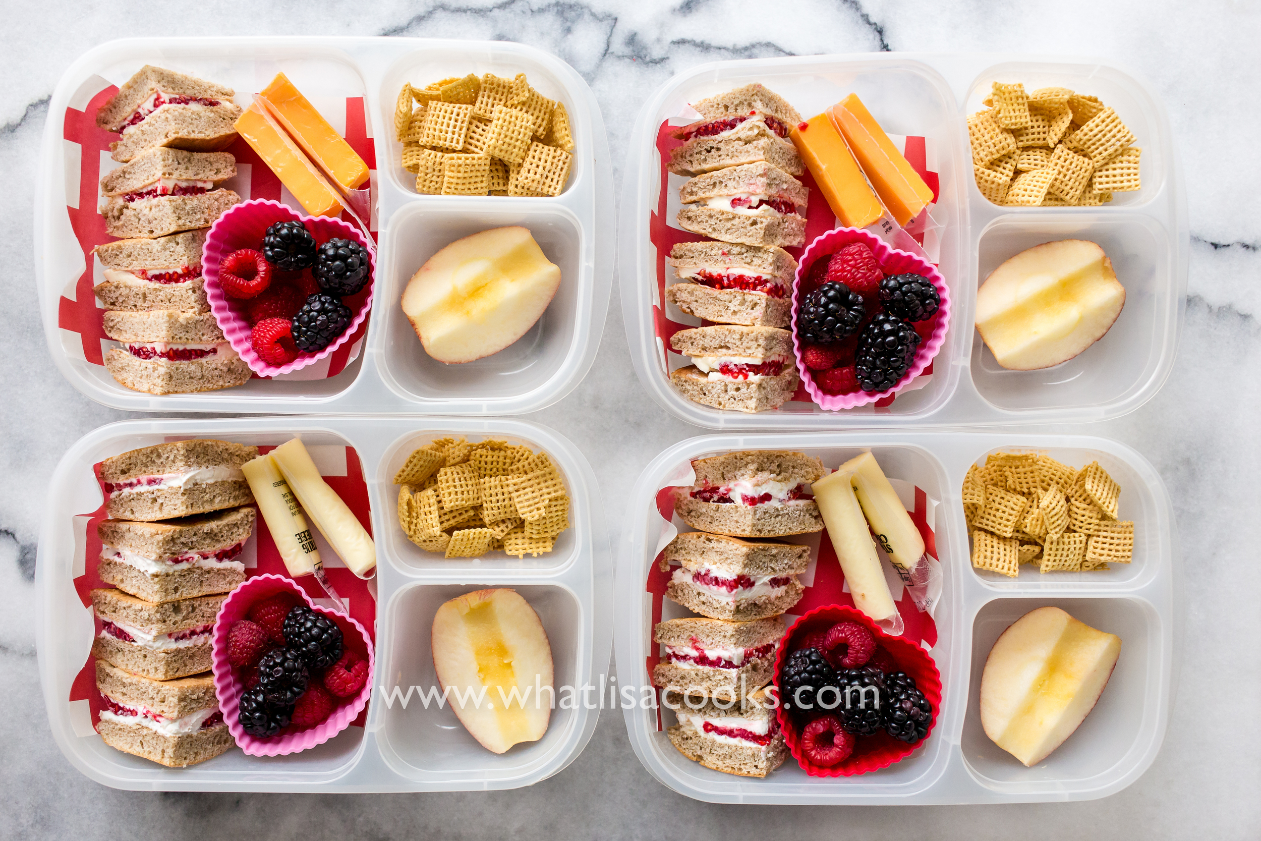 Pancake Sandwiches for School lunch - from WhatLisaCooks.com