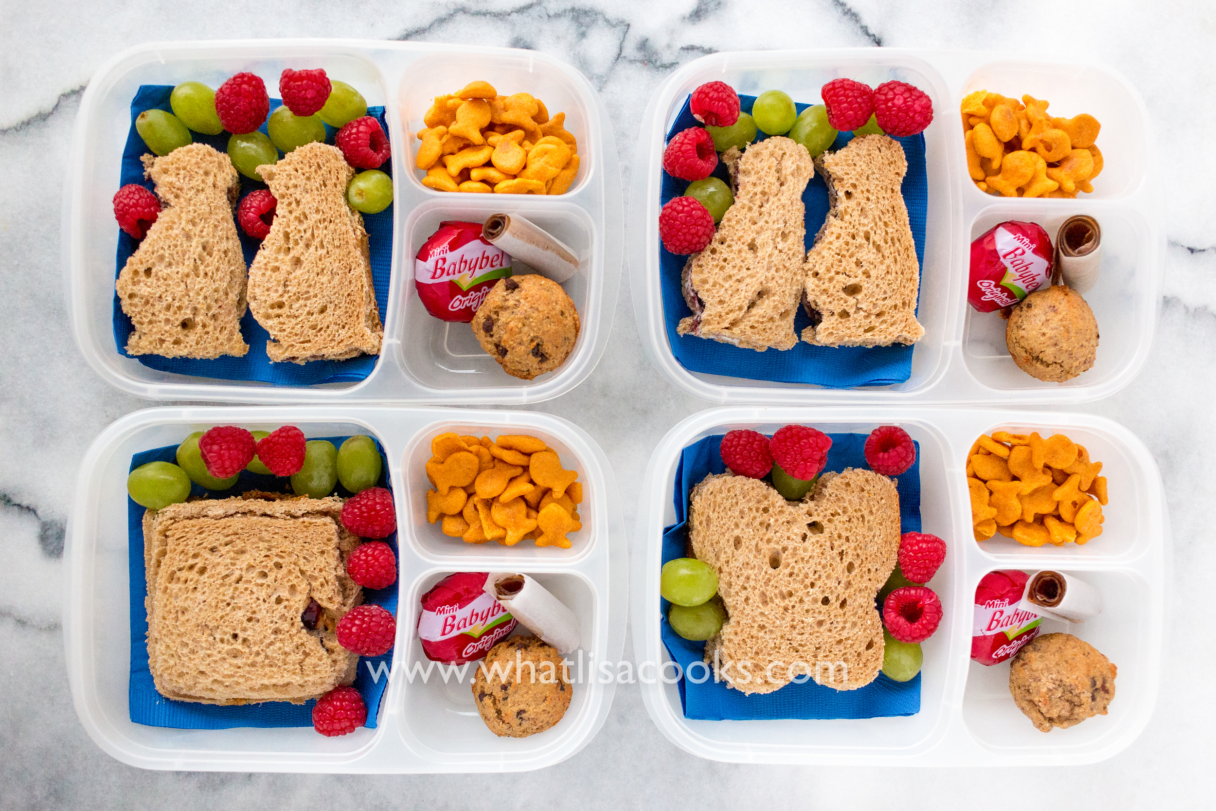 Sandwiches for lunch - from WhatLisaCooks.com