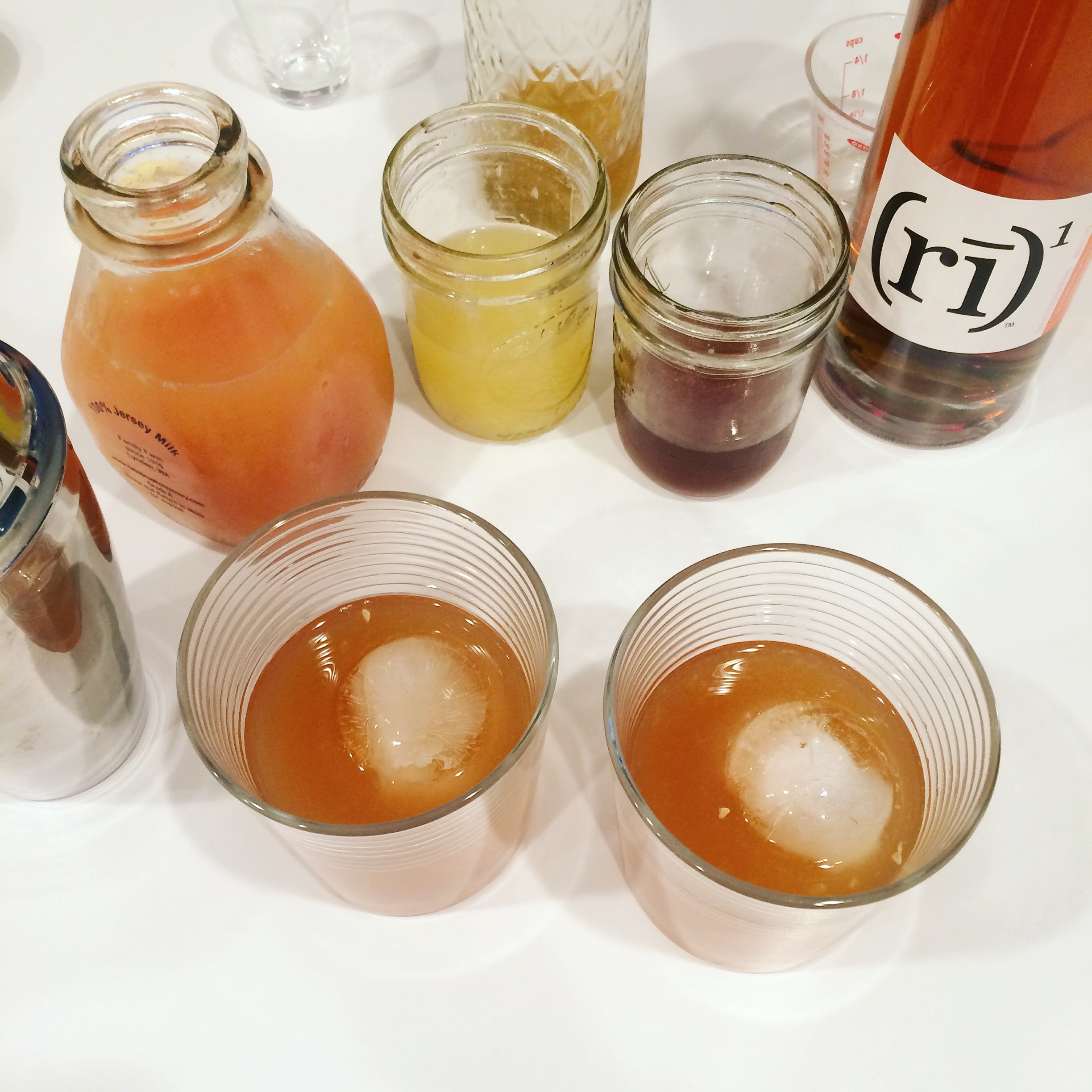 Goldrush cocktail from WhatLisaCooks.com