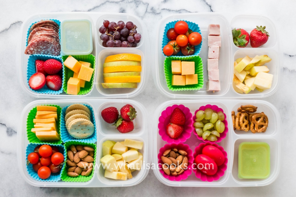 Lunchable boxes with a little something for everyone!