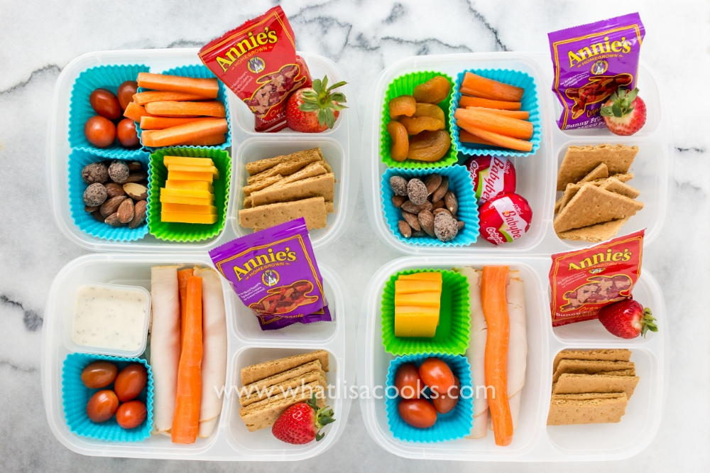 Healthy snack box