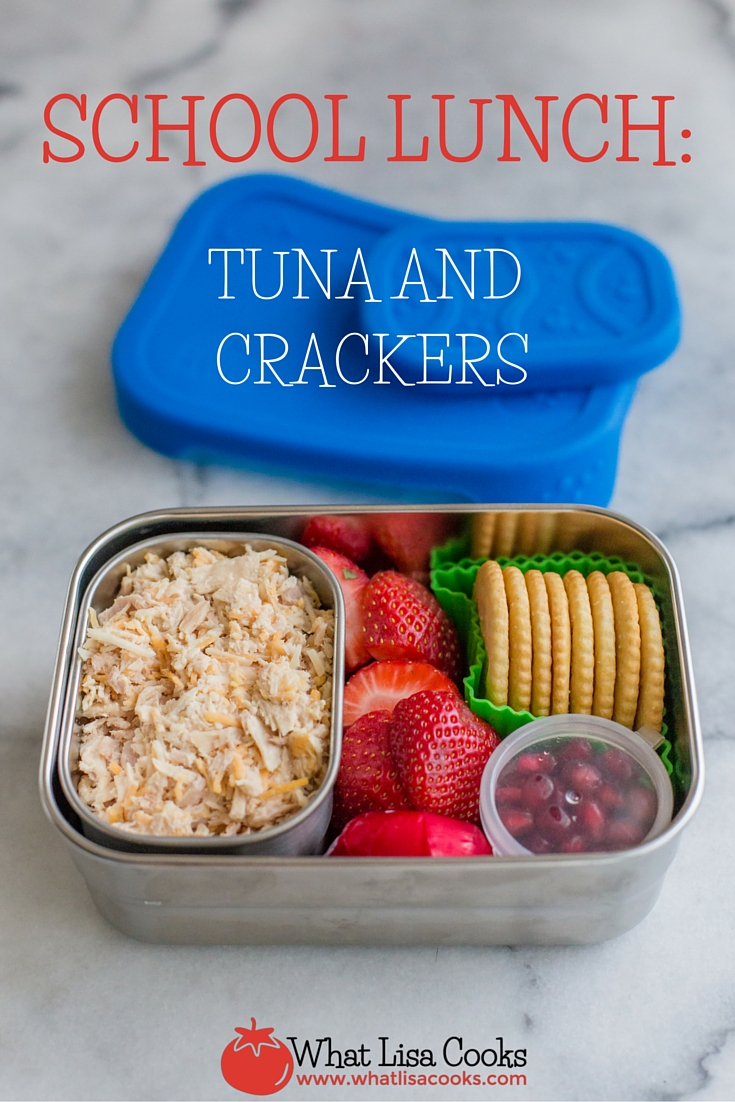 Easy and healthy school lunch from WhatLisaCooks.com