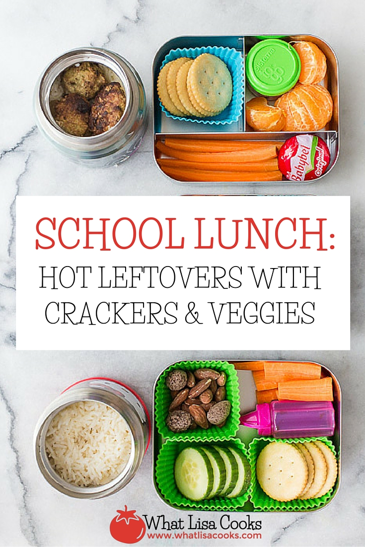 Packing school leftovers? Try packing up hot leftovers. whatlisacooks.com
