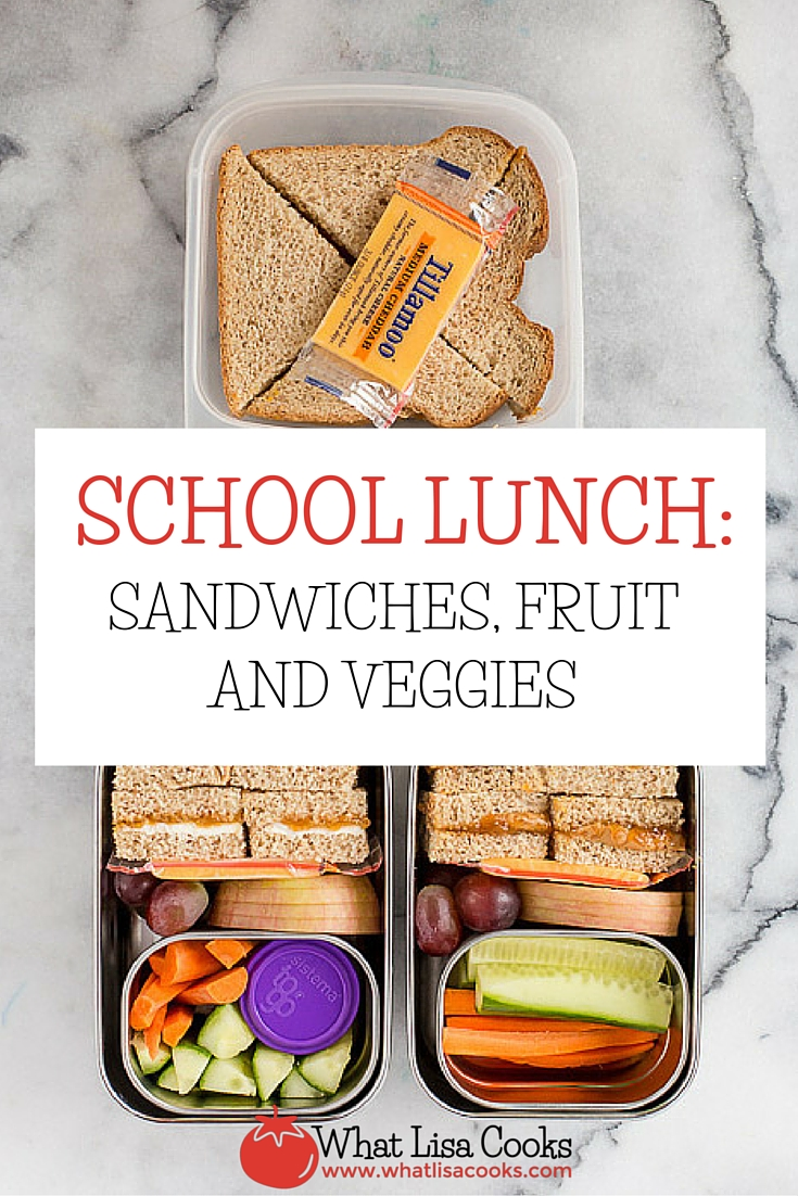 Yet another quick and easy packed school lunch idea from WhatLisaCooks.com