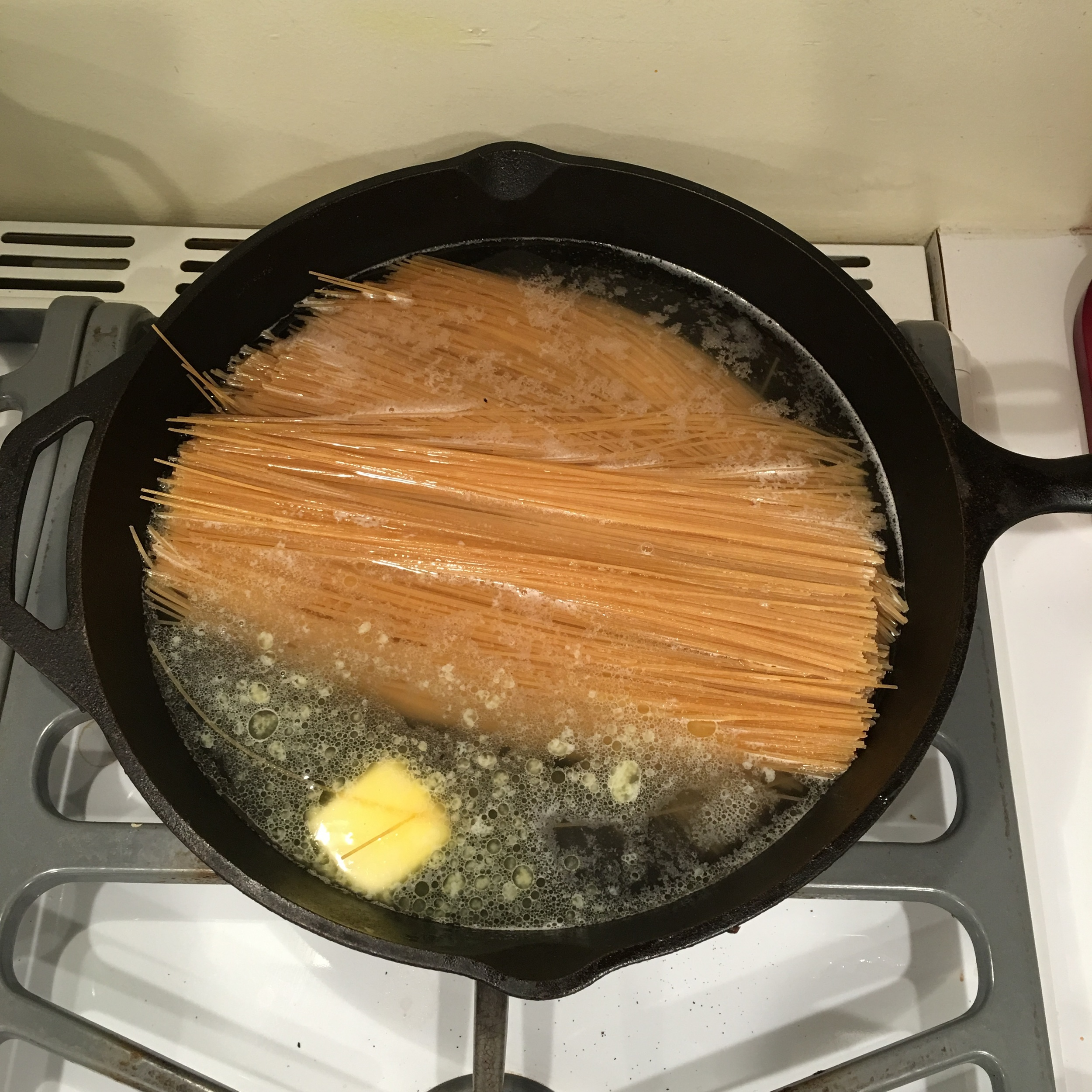 a new way to cook pasta!