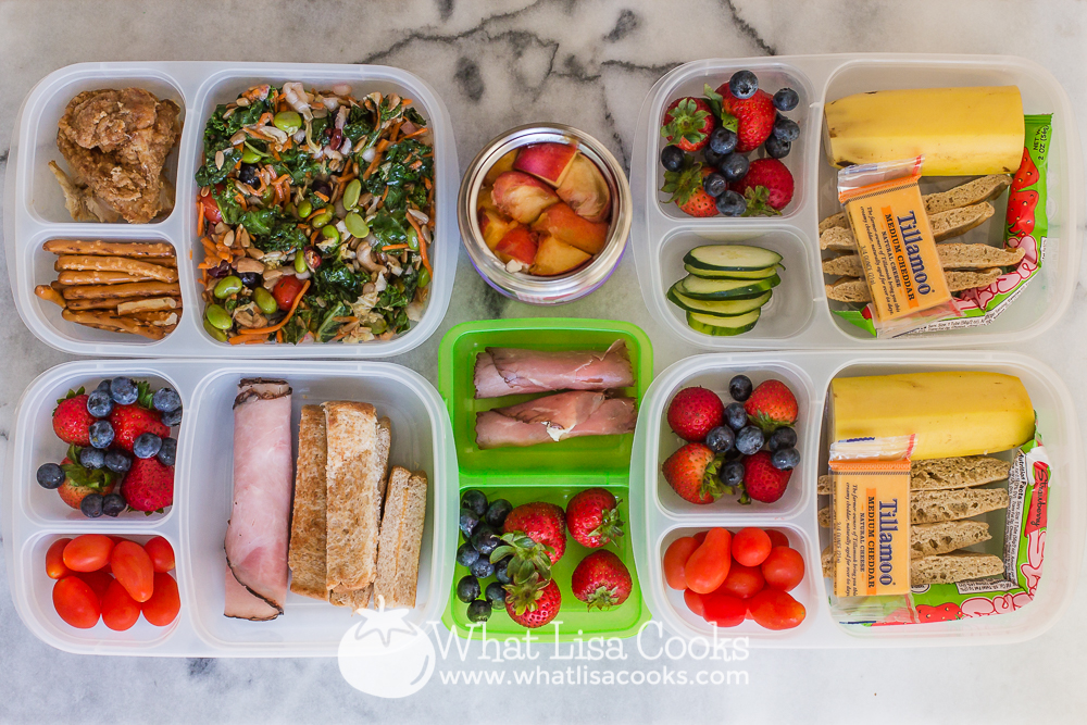 Packed lunch from WhatLisaCooks.com