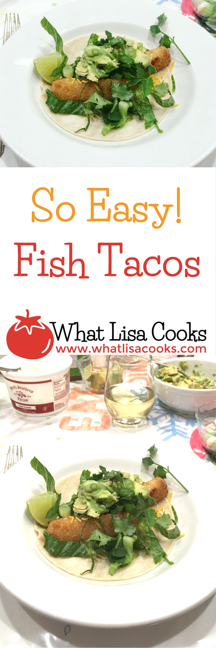 Must try! the easiest way to have fish tacos at home.