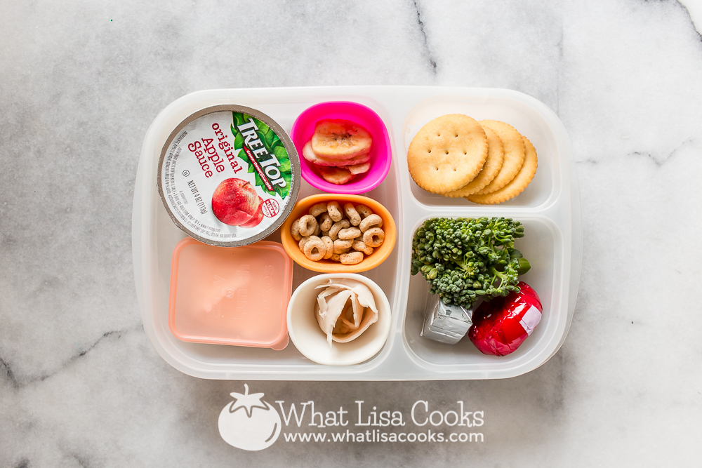 Simple snack box lunch from WhatLisaCooks.com