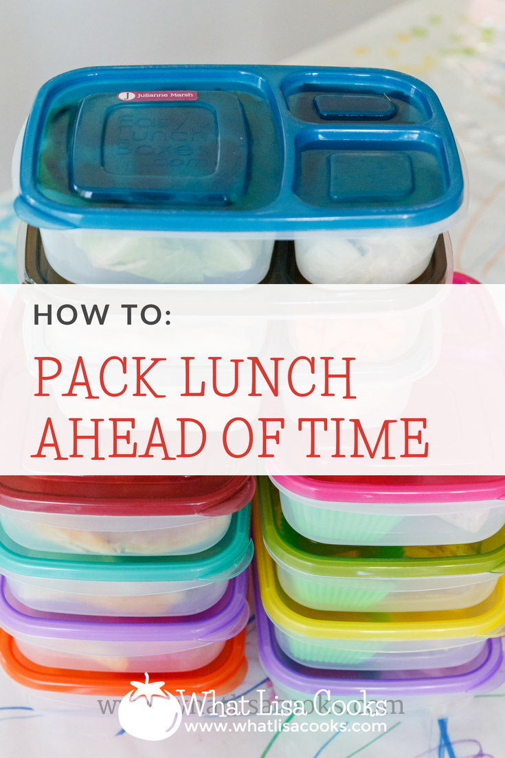 School lunch packing tips: how to pack lunch days ahead - from whatlisacooks.com