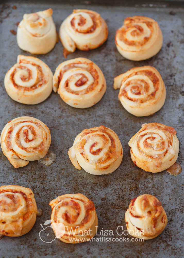Easy homemade pizza rolls are the perfect make ahead kid food.