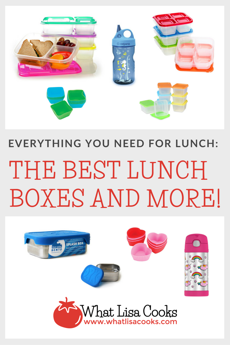 Everything you need for school lunch packing from whatlisacooks.com