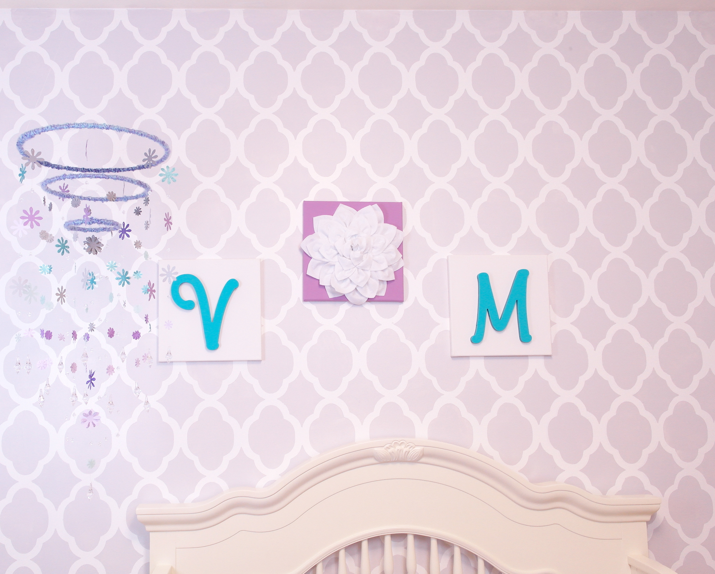 Amelias-Decorating-and-Design-New-Jersey-Interior-Design-Baby-Veroncia-Nursery-Design-Purple-and-Teal-Stencil-Wall.jpg
