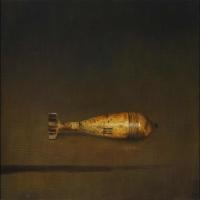 Return to Sender    Acrylic on Canvas   35 x 35cm