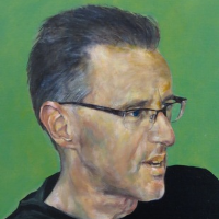 Martin Tighe's 2013 portrait of Gideon Haigh