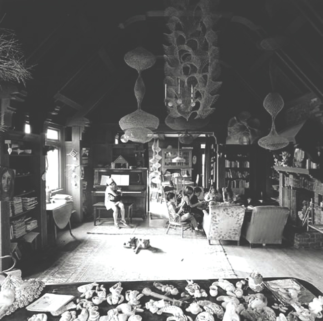 Ruth Asawa's Living Room, San Francisco, 1969_jpg