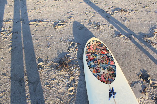 surf christmas
