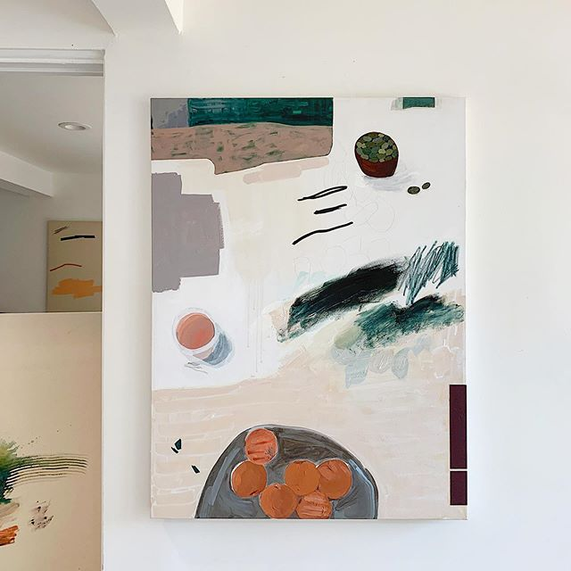 objects + moments mingle with abstraction. . 'haifa', a summer still life.
