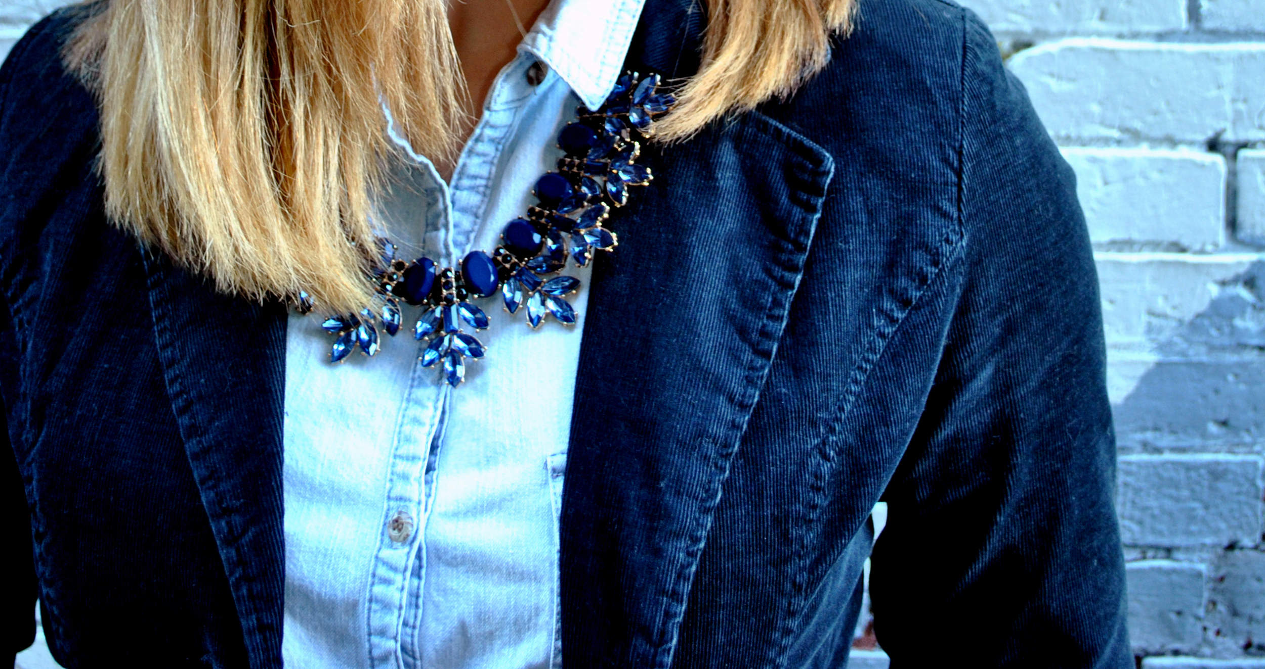 Denim outfit - Winter blues Thoughtfulwish