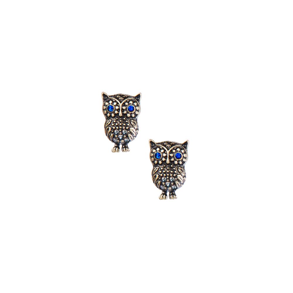 Owl Stud Earrings    $22