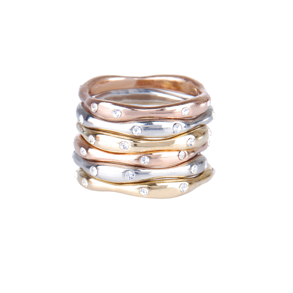 Set of Six Stackable Rings    $48