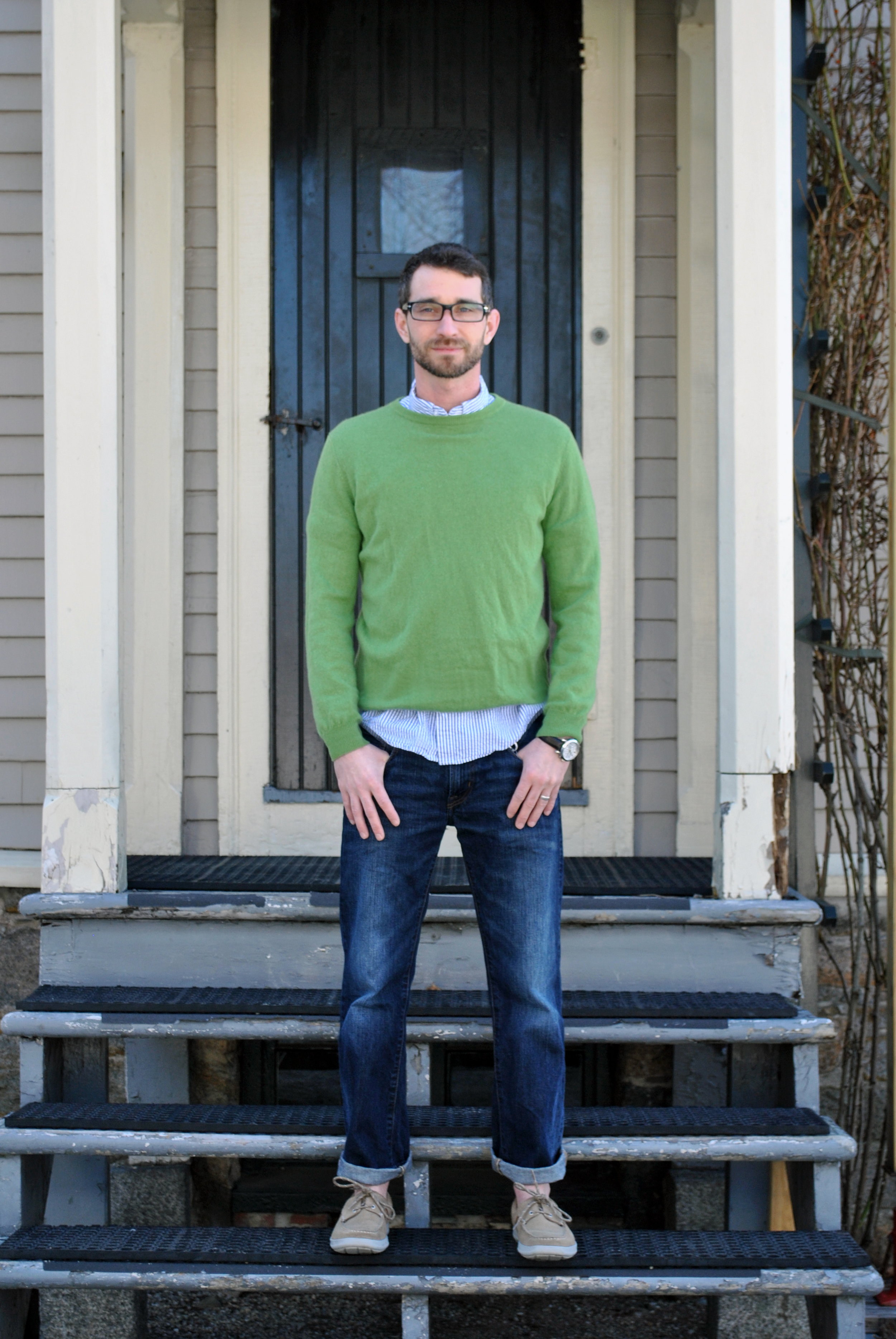 Wool Overs Green Sweater | thoughtuflwish