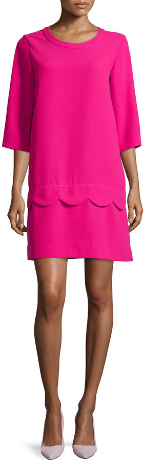 Kate Spade scallop dress