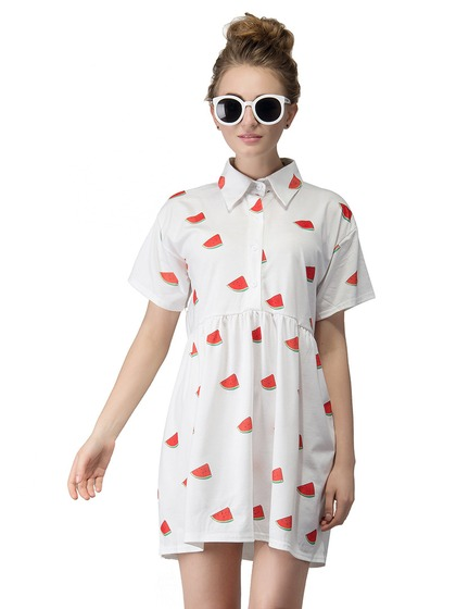 Watermelon Print Dress $13.90