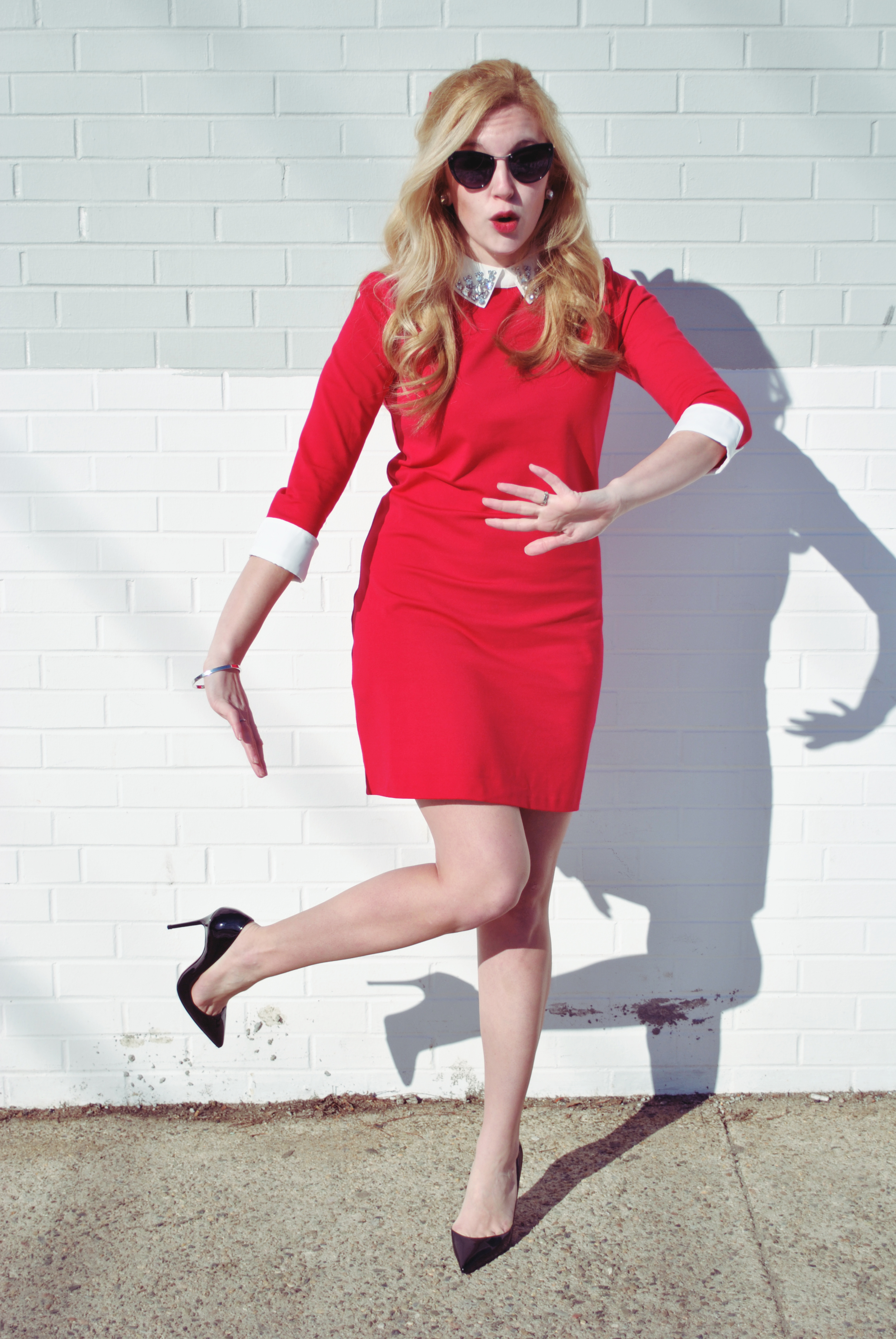 thoughtfulwish | valentine's day outfit // preppy outfit // red dress // ted baker // nordstrom // date outfit // fashion blogger