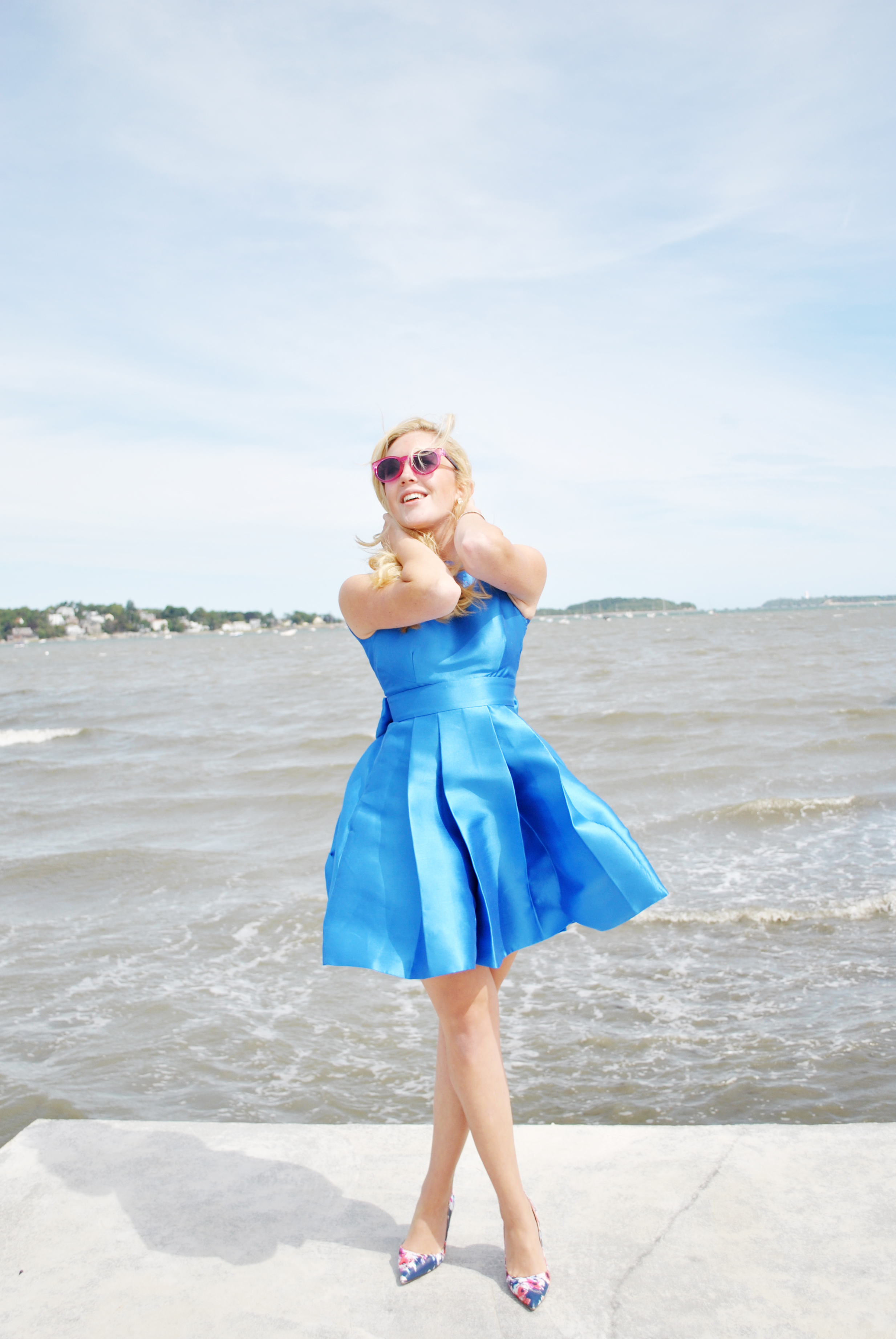 thoughtfulwish   preppy // kate spade // bow // birthday outfit // cake // party dress // boston fashion // meredith wish