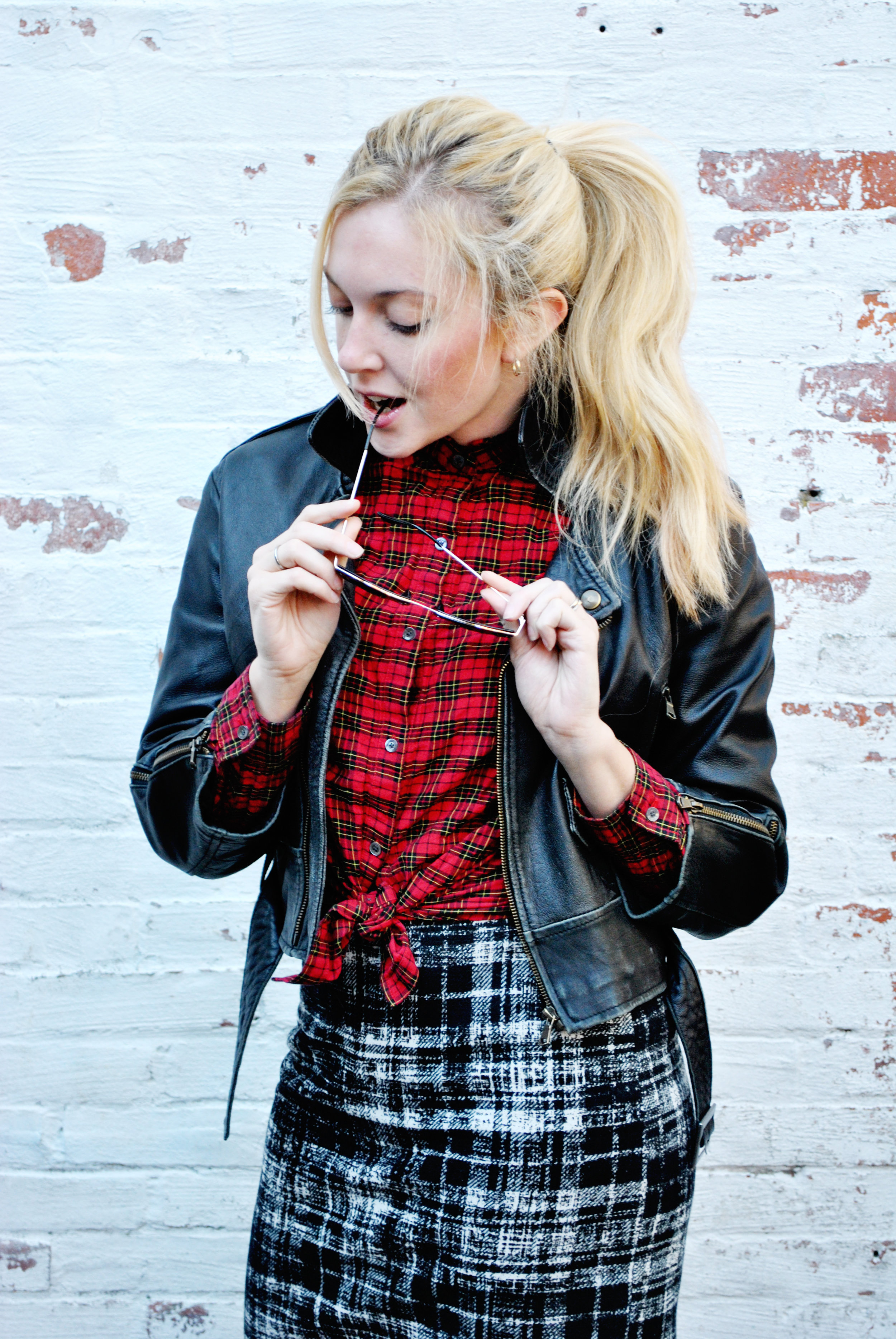thoughtfulwish | preppy, plaid, plaid outfit, fall outfit, winter outfit, j.mclaughlin, ann taylor, boston fashion, fashion blogger, fblog