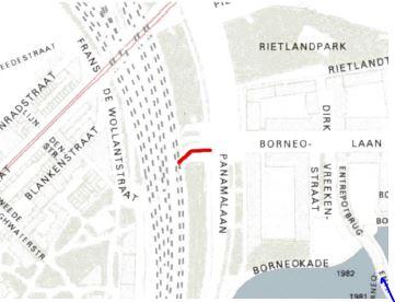 Frans de Wollantstraat aansluiting Panamalaan.JPG