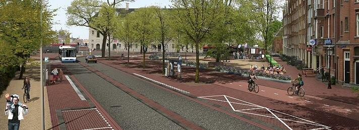 Eilandenboulevard Kattenburgerplein artist imp.JPG